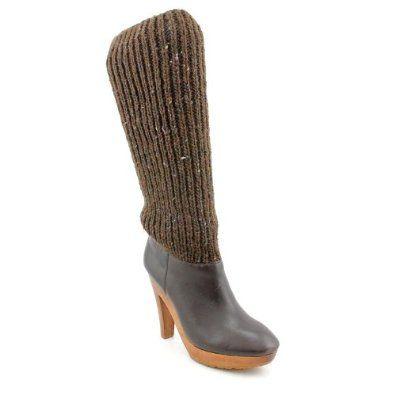 Michael Kors Daze Fashion Knee-High Boots Brown Womens Michael Kors. $142.99
