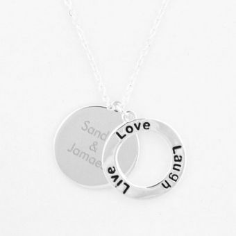 Live Love Laugh Necklace #MothersDay