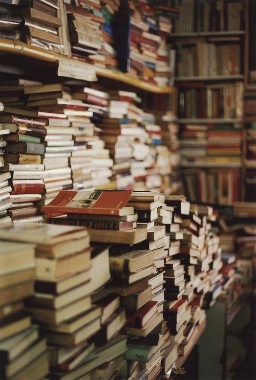 // books upon books upon books.