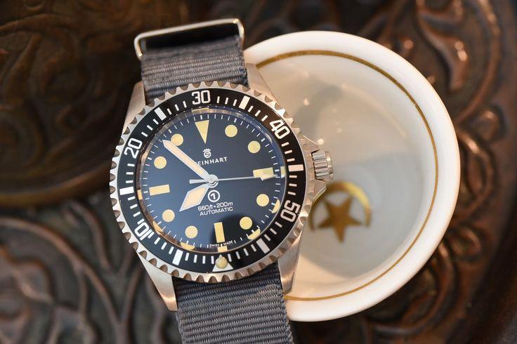 Steinhart ocean 1 vintage military watch mark 1