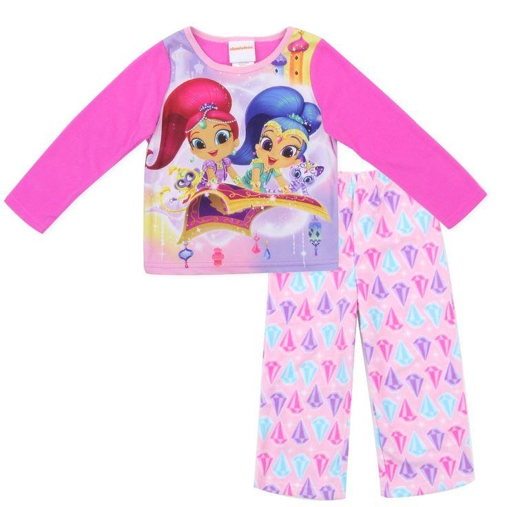 SHIMMER AND SHINE Toddler GIRLS 2-Piece Pajama Set
