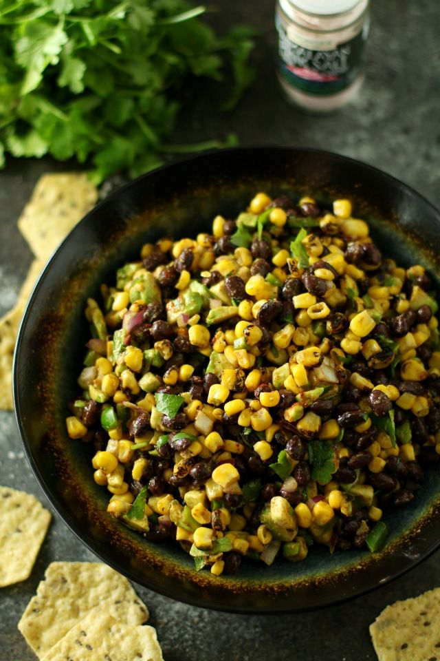 This Corn Black Bean Avocado Salsa is everything I love – sweet, savory, spicy, crunchy and fresh. Heaven in a dip, I say. Your summer's about to get way more legit.