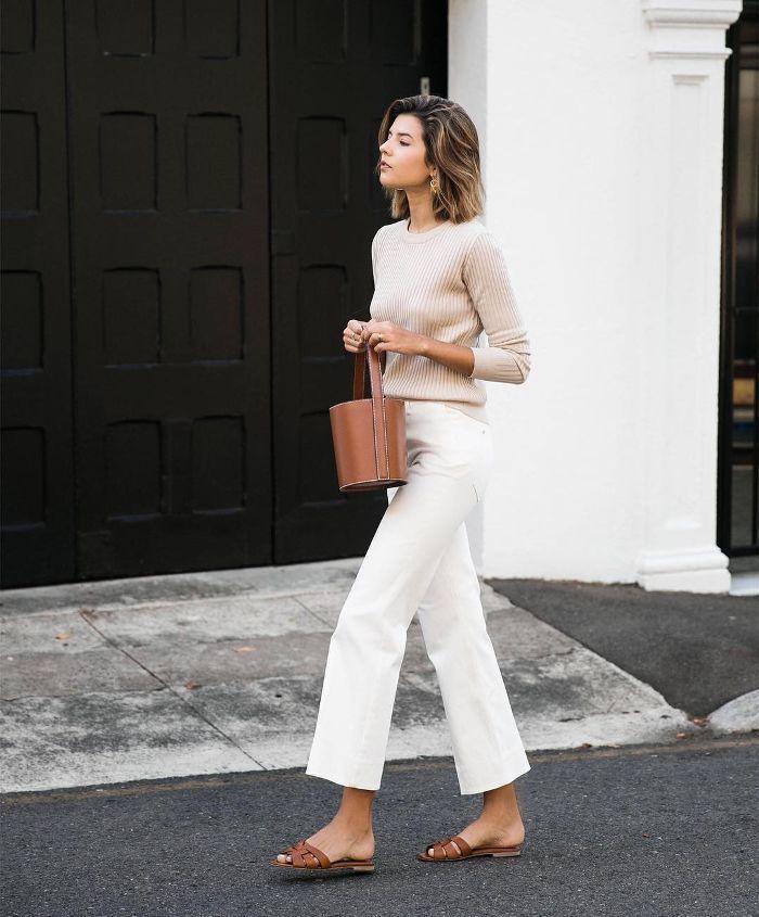 15 Wide-Leg-Jean-Outfits Wir kopieren diesen Früh…