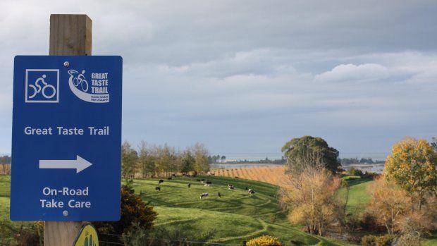 Great Taste Trail . Tasman's View Heights