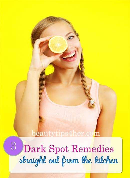 Treating Dark Spots – Head Straight to the Kitchen for Dark Spot Remedies | Look Good Naturally