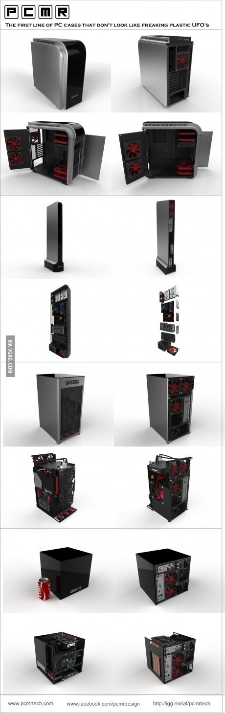 Trying to start my own line of PC cases. What do you think?