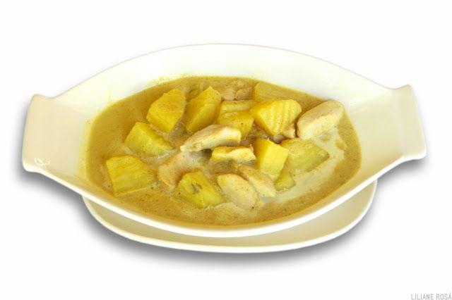 Curry amarelo com frango | Receitas da culinária tailandesa | Cozinha Thai