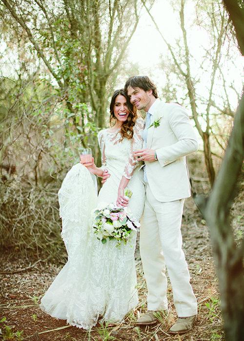 Casamento Ian Somerhalder e Nikki Reed - Wedding Photos - Casamento no campo