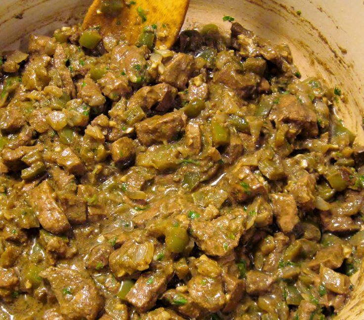 Egyptian Style Beef Liver (You'll Never Say No to Liver Again)