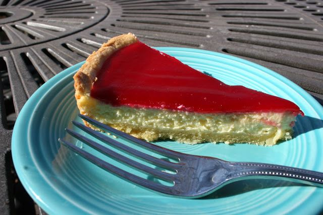 -in-the-House: Cranberry Goat Cheese Tart with Almond Shortbread ...