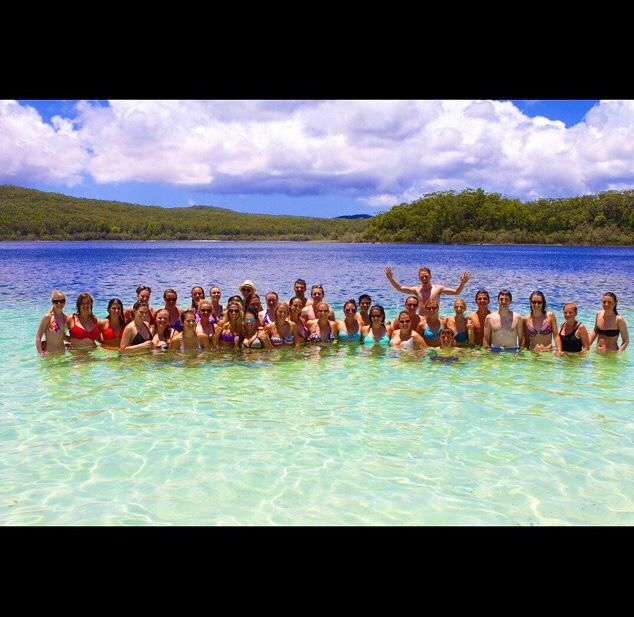 #summer love in #lakemckenzie with #contiki!!! @NoosaDiscovery : the best way to experience #fraserisland from #noosa