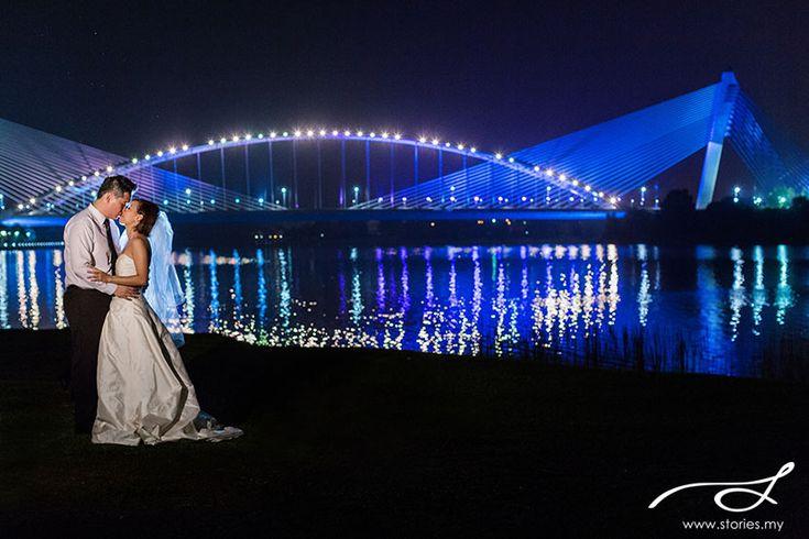 night pre wedding shoot putrajaya - Google Search
