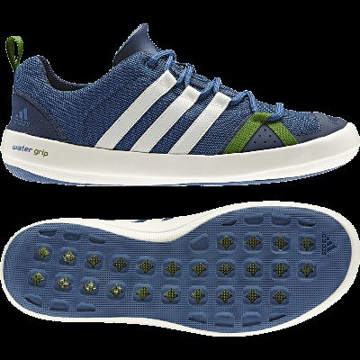 Blueberry Adidas Boat Shoe