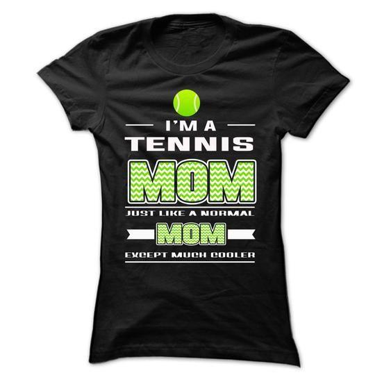 Tennis Mom T Shirts, Hoodies, Sweatshirts. CHECK PRICE ==► https://www.sunfrog.com/Sports/Tennis-Mom-64693482-Ladies.html?41382