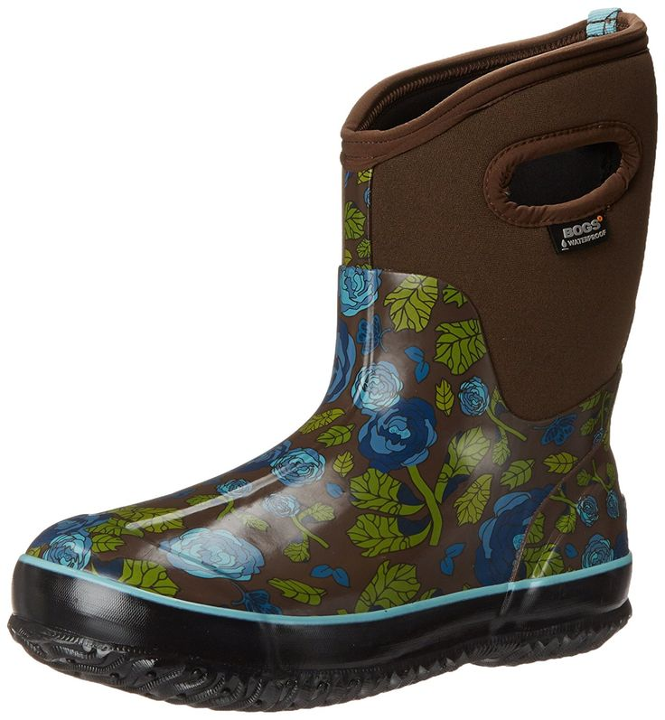Bogs Women's Classic Rose Garden Mid Winter Snow Boot => Stop everything and read more details here! : Women's winter boots