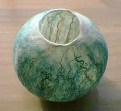 how to make wet felted bowls - Google Search