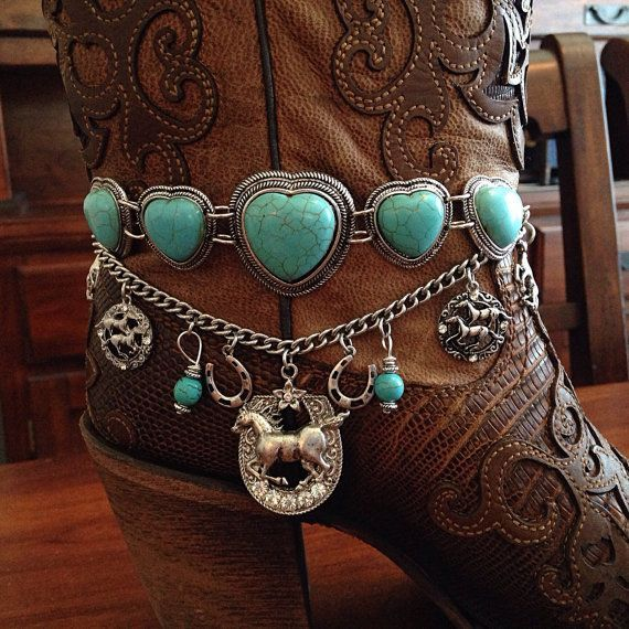 Boot Jewelry Boot Bracelet Boot Bling Boot Charms by DorysBoutique, $38.00