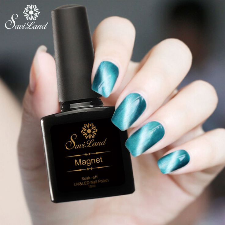 Saviland 1Pcs 10ml 3D UV Nail Gel Polish LED Cat Eye Color Manicure Dark Cat Color soak off Shining Gel Lacquer
