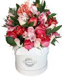 Las rosas rojas son las flores más conocidas y populares del mundo asociándose al amor y la amistad. Por otro lado, las rosas rojas, gracias a su inycreíble color y belleza, son perfectas para cualquier ocasiónQue contiene? 48 Rosas Rojas Importadas Tamaño de la caja: 23cm x 20cm Porquéescoger una caja de rosas? Nada impresiona más que un detalle floral atractivo, elegante, novedoso y diferente a lo común. Es ideal para cualquier tipo de ambiente, las rosas invocaran un espacio más…