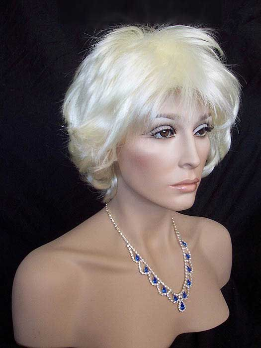 Lexy Wig, New Look in White Blonde