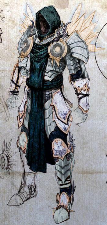 Fantasy paladin | Paladin, Fantasy armor, Character art