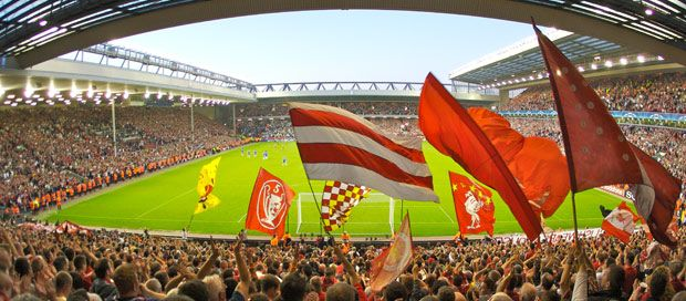 The Kop at Anfield: Liverpool Fc, Fc Anfield, Merseyside Red, Anfield Liverpool, Mighty Reds, Road 1884