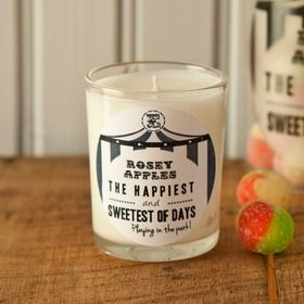 Retro Sweet Scent Rosey Apples Candle from Ellie Ellie