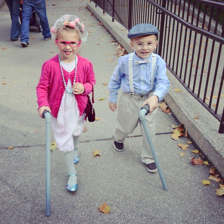 Grandma and grandpa Halloween costume