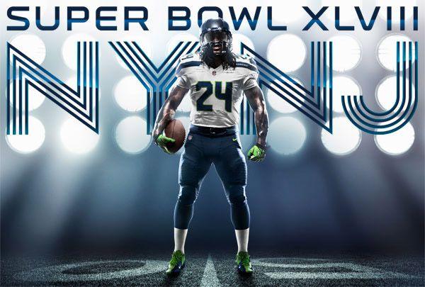 Seahawks to wear white jerseys, blue pants in Super Bowl XLVIII #SB48