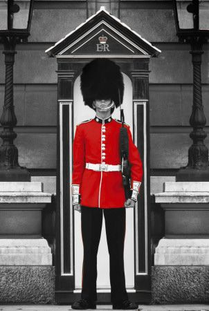 Buckingham Palace in England