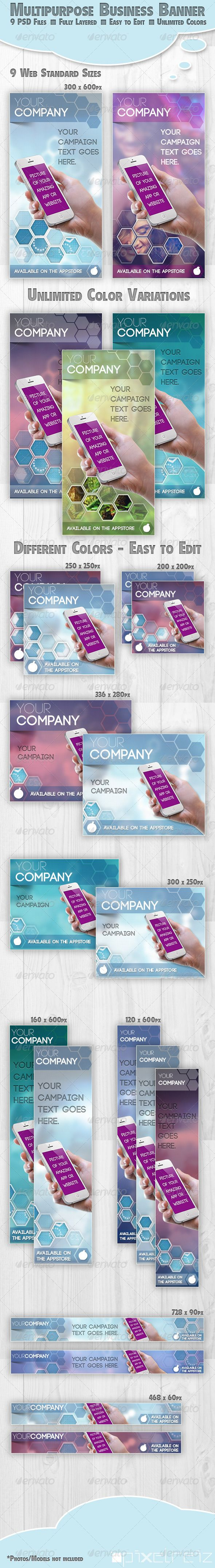 Multipurpose Business Banner Hexagon Template PSD | Buy and Download: http://graphicriver.net/item/multipurpose-business-banner-hexagon/5459400?WT.ac=category_thumb&WT.z_author=pixelreiz&ref=ksioks