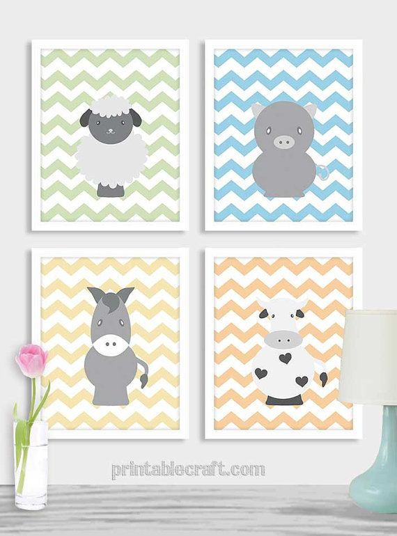 Baby Boy Nursery Art Print Nursery Baby Boys by PrintableCraft
