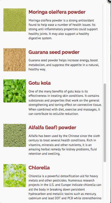 ENRICH YOUR LIFE!  See why Guarana Seed Powder, Gotu Kola, Alfalfa Leaf, and Chlorella help your body and enrich your healthy.   https://www.zurvita.com/iwantz/en/us/