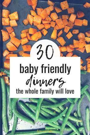 30 babygeführte Entwöhnungsabende für die ganze Familie   – Baby Led Weaning