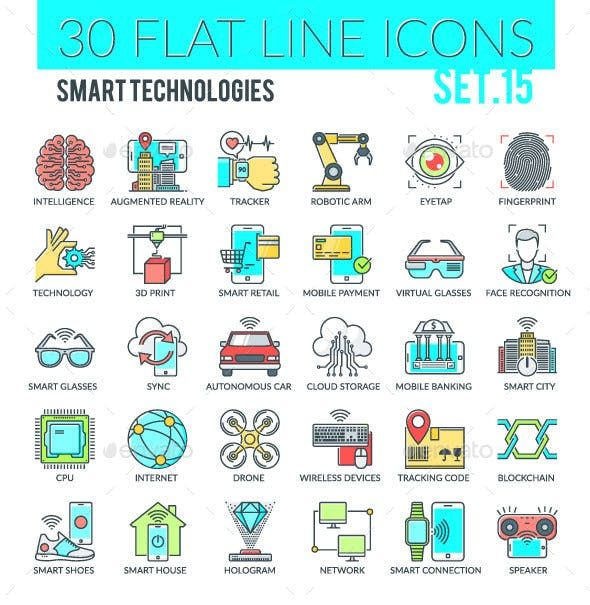 Smart Technologies Icons – Technology Icons