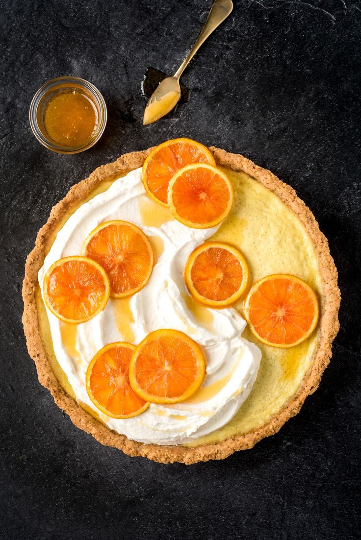 INGREDIENTS BY SAPUTO | For a colourful, flavourful dessert this holiday season, try this recipe for our Ricotta cheese, hazelnut and orange tart. It's the perfect idea for ending Christmas dinner on a sweet note!