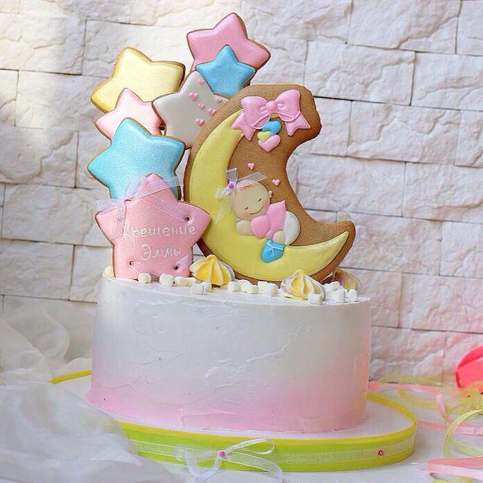 Ещё одно маленькое чудо✨✨ получило своего ангела хранителя‼️Чему и приурочен этот тортик ⭐️