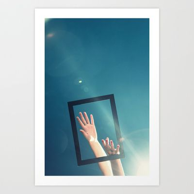 Escape Art Print by marialivia16 - $14.04