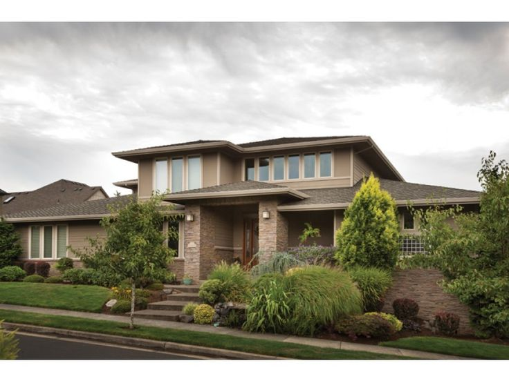 Plan 69105AM: Contemporary Prairie With Daylight Basement | Basements,  Contemporary And Pantry