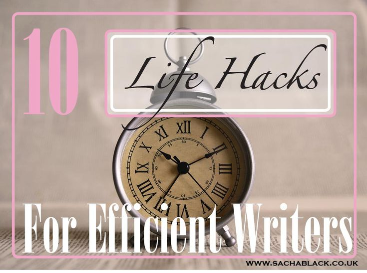 Do you ever need just five more minutes in your day? Maybe you want to edit another post, or write a short, or a piece of flash for a competition. But you just don't seem to have enough time. I'm w…