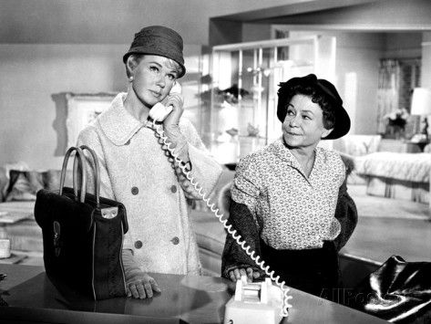 Pillow Talk, Doris Day, Thelma Ritter, 1959 Foto bei AllPosters.de