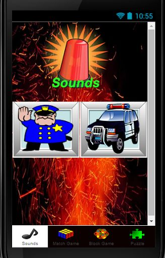 Firefighters Game For Kids 2015 has 4 memo firefighters puzzle games.<p>Another thrilling feature to the Firefighters Game that makes it even more awesome then just a matching game-you must find the icons that link together in some way!  When you make a linked match the Firefighters Games it will show the link. Flip the cards to help you match the firefighter images.<p>Firefighters Game For Kids is an addictive race to find the matching links, that gets harder each round.  Have Fun with this…