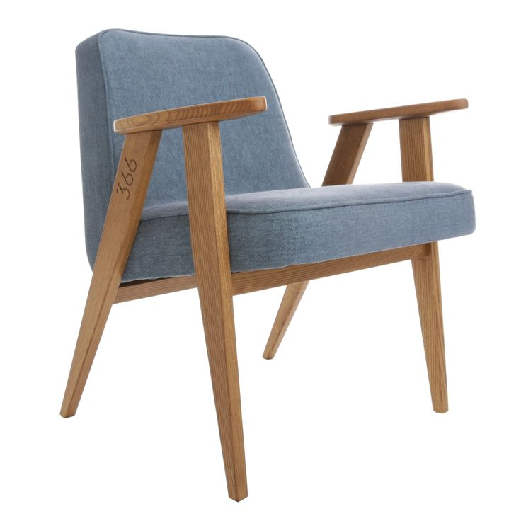 366 easychair in Denim - LOFT collection.