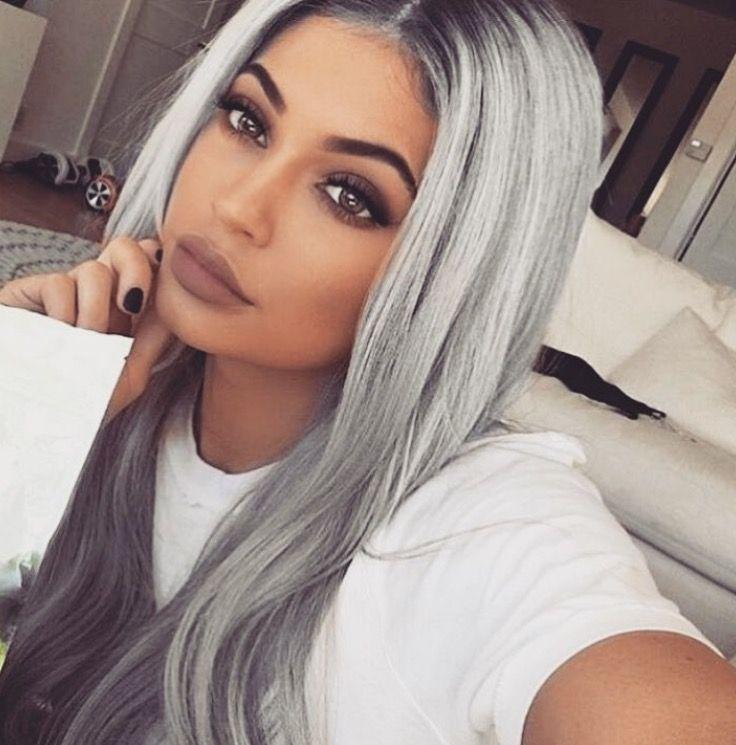 Justinenatino Kylie Jenner Pinterest Makeup Gray