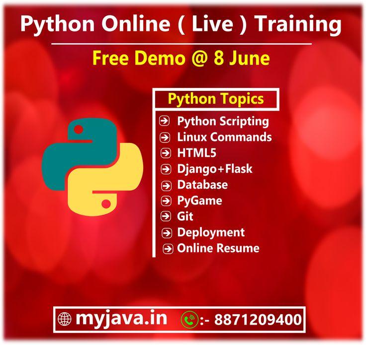 Python online live training in 2020 online student