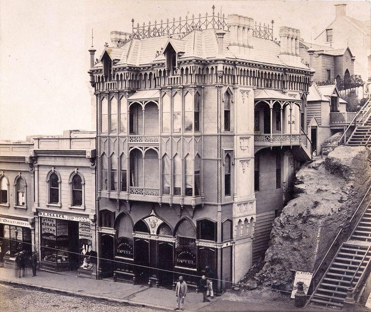 The Oriental Hotel, Lost Dunedin | Built in Dunedin  http://builtindunedin.com/ Great website for historical buildings in Dunedin.