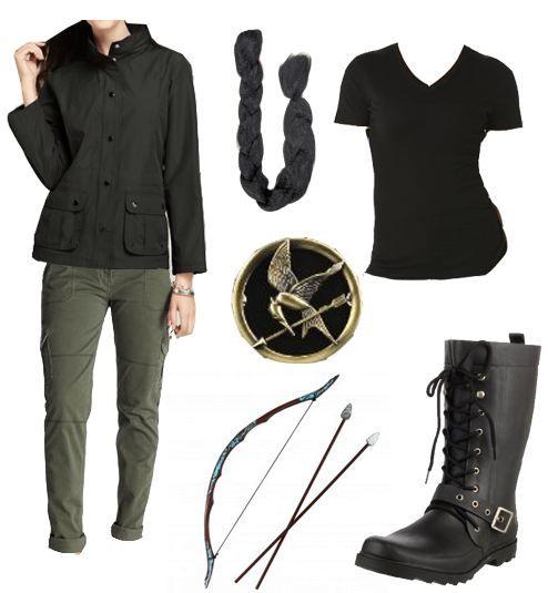 Katniss Everdeen Halloween Costume - The Hunger Games  sc 1 st  Pinterest & 11 best The Hunger Games images on Pinterest | The hunger games ...