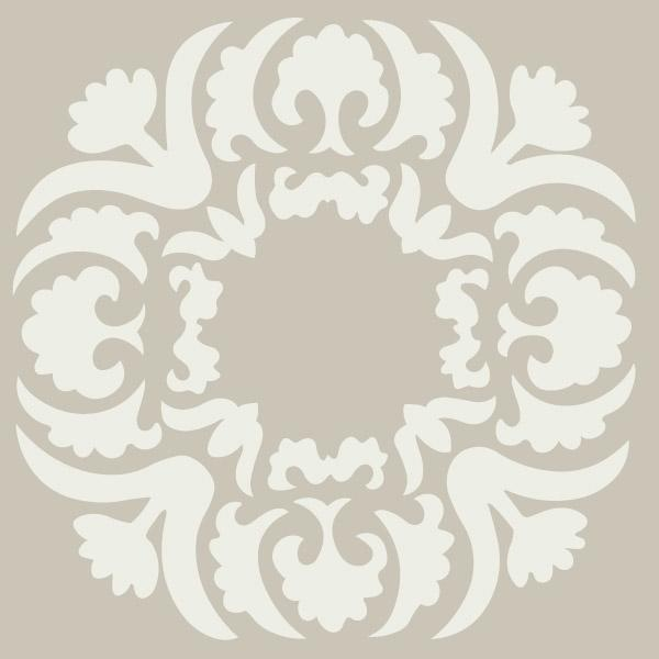 LOVE this stencil pattern to put on walls, pillows or the floor! $7 www.sunnyspaint.com