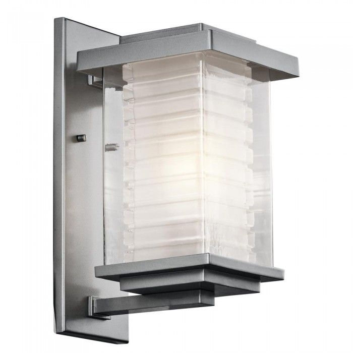 Platinum Wall Lantern  | Montreal Lighting & Hardware