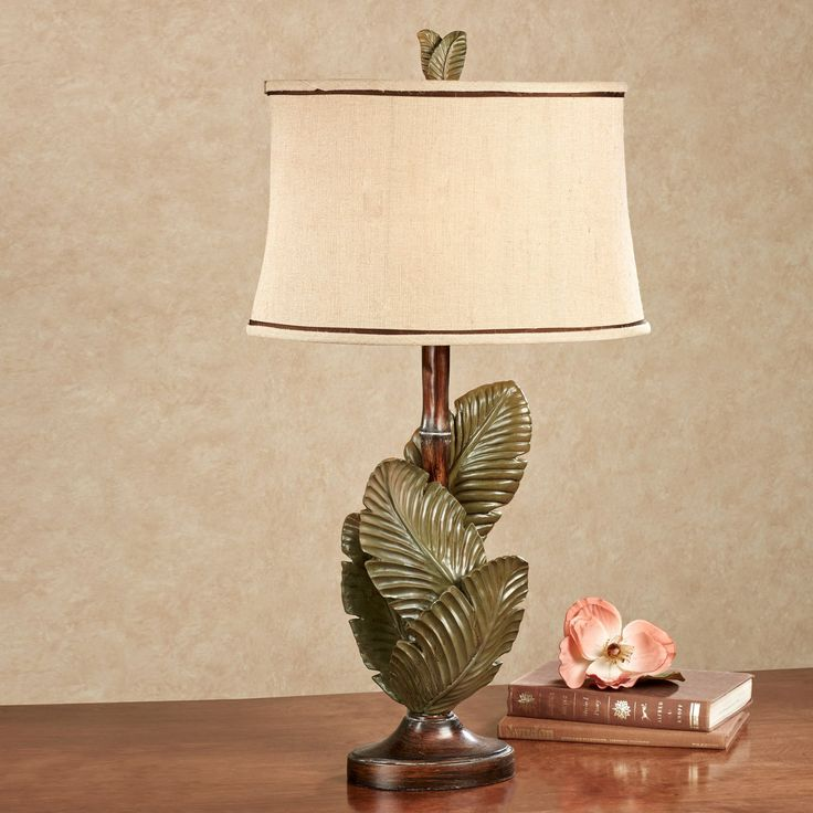 tropical table | Home > Layered Palms Tropical Table Lamp